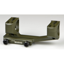 Warne gen 2 Extended Skeletonized 30mm MSR Mount (OD Green)