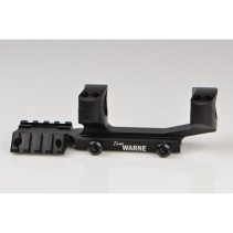 "Warne AR15 - 1"" Tactical 1PC Black"