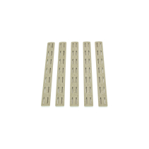 Panele ochronne do łoża w systemie KeyMod pięciopak BCM Rail Panel Kit 5.5 inch Five Pack Flat Dark Earth