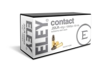 ELEY Contact 02300 .22LR SS 42gr 1090fps