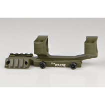 Warne AR15 - 30mm Tactical 1PC Mil-Spec OD Green